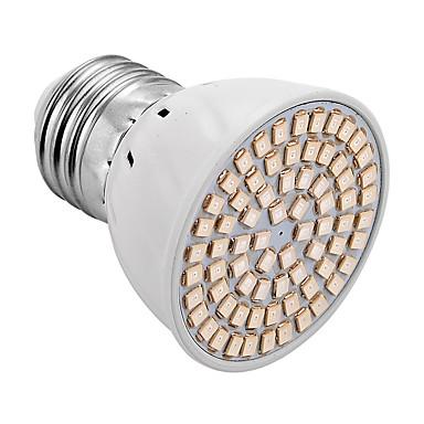 YWXLIGHT® 300-400lm E26 / E27 Voksende lyspære 72 LED perler SMD 2835 Blå Rød 220V 110V