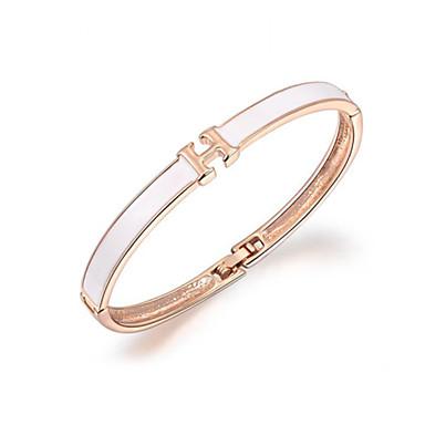 Feminino Bracelete bijuterias Cristal Liga Jóias Para Casamento Festa Diário