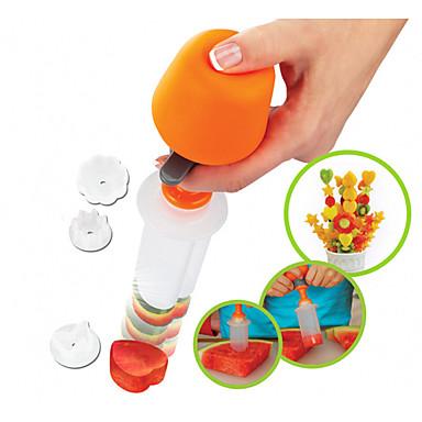 Herramientas de cocina El plastico Cocina creativa Gadget El moho de bricolaje de las frutas