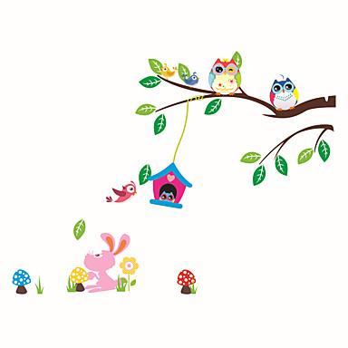 Autocolantes de Parede Decorativos - Autocolantes de Aviões para Parede Animais / Moda / Botânico Sala de Estar / Quarto / Banheiro