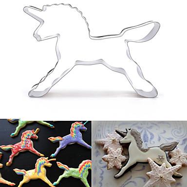 Bakeware verktøy Rustfritt stål 3D-tegneseriefigur / Kreativ Kjøkken Gadget / GDS Kake / Til Småkake / For Godteri Dyr Kakekuttere 1pc