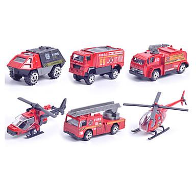 Brannbil Jeep Leketrucker og byggebiler Lekebiler kjøretøy Leke 1:87 Metallisk Plast 1pcs Gutt Barne Leketøy Gave