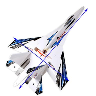 economico RC Airplanes-Aliante RC 4 canali Aeroplano RC Blu Assemblaggio richiestoTelecomando A Distanza 1 Pila Per Drone Velivolo Manuale D'Istruzioni