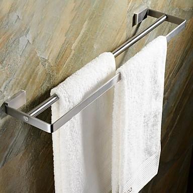 Håndklestang Hylle til badeværelset / Børstet Rustfritt Stål /Moderne
