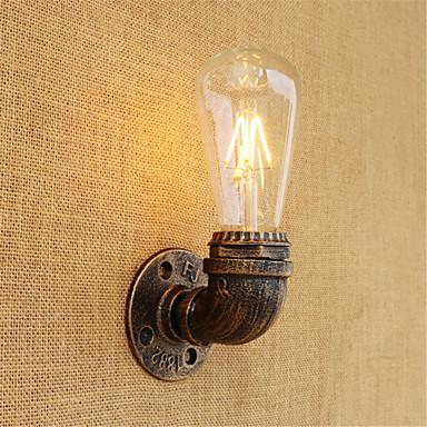 زهري / رجعي LED مصباح جداري معدن إضاءة الحائط 110-120V / 220-240V 4W