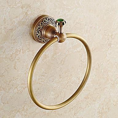 Håndklestang Moderne Messing / Rustfritt Stål 1 stk - Hotell bad håndkle ring