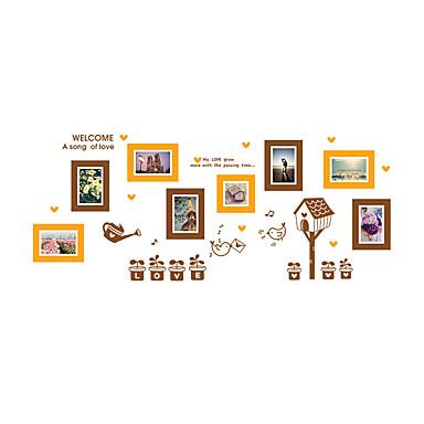 Dyr Mote Former Veggklistremerker Fly vægklistermærker Dekorative Mur Klistermærker Foto klistermærker, Vinyl Hjem Dekor