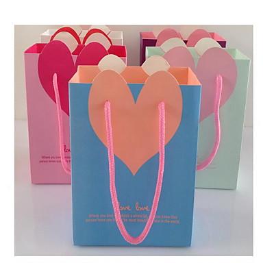 Valentinsdag gavepose gavepose lodret af det hemmelige haven af originale papirposer kosmetik taske cb15-03 en to pack