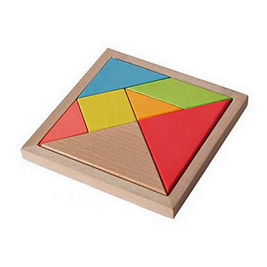 Mosaikkspill Puslespill i tre Pedagogisk leke Originale Tre Jente Gave