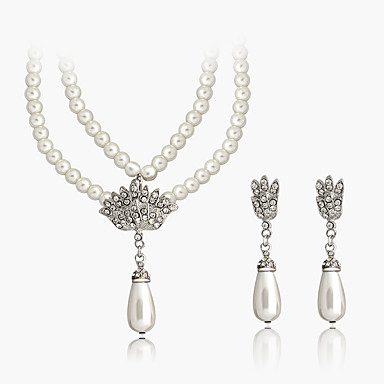 Náhrdelníky s přívěšky Imitace perly Slza Perly Jedinečný design Šperky Pro  Svatební Párty Denní ff7b080e87