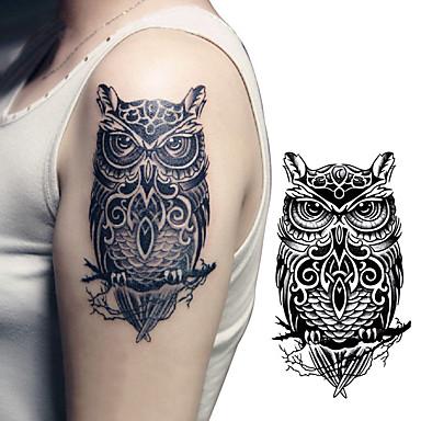 Vanntett / 3D / Tattoo-klistremerke arm midlertidige Tatoveringer 1 pcs Totem Serier / Dyre Serier kropps~~POS=TRUNC