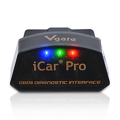 super poder salvar vGATE icar pro código de diagnóstico 4.0 obdii adaptador ELM327 obd2 motor de verificação Bluetooth falha ferramenta