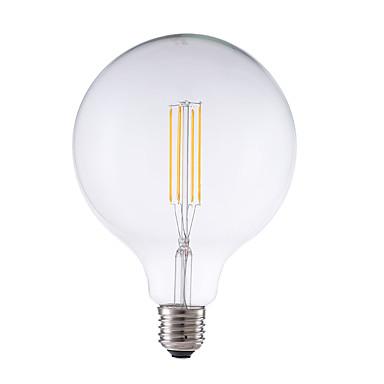 GMY® 1pc 4 W 450 lm E26 / E27 LED-glødepærer G125 4 LED perler COB Mulighet for demping / Dekorativ Varm hvit 220-240 V / 1 stk. / RoHs