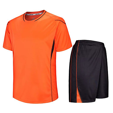 לילדים כדורגל מדים בסטים ייבוש מהיר נושם אביב קיץ חורף סתיו טרילן כושר גופני ספורט פנאי כדורגל ריצה
