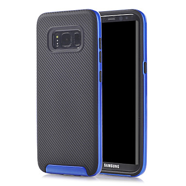 Capinha Para Samsung Galaxy Antichoque Capa traseira Côr Sólida Rígida TPU para A5 (2017) A7(2016) A5(2016)