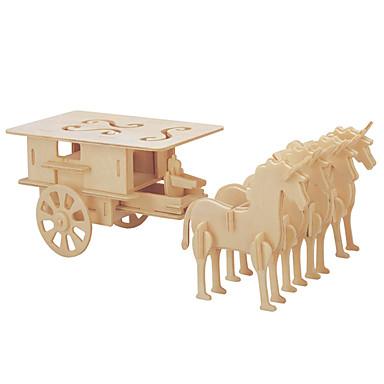 voordelige 3D-puzzels-Speelgoedauto's 3D-puzzels Legpuzzel Koets Paard Strijdwagen DHZ 1 pcs Kinderen Heren Dames Voor Stel Speeltjes Geschenk
