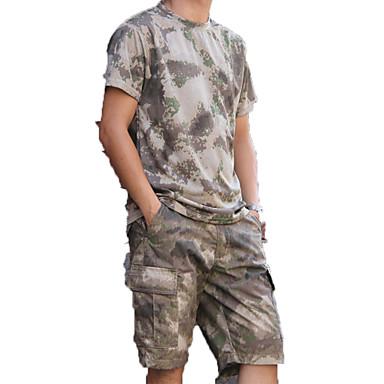 للرجال مجموعات الثياب الصيد / رياضة وترفيه مقاوم للماء / يمكن ارتداؤها / متنفس ربيع / خريف / شتاء ملابس الرياضة / ألبسة رياضية 2PCS