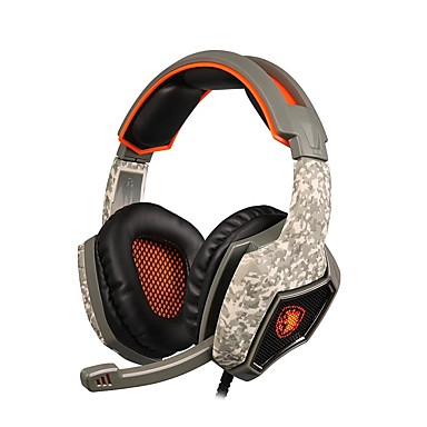 SA-917 Sobre o ouvido / Bandana Com Fio Fones Dinâmico Plástico Celular Fone de ouvido Com Microfone / Com controle de volume Fone de ouvido