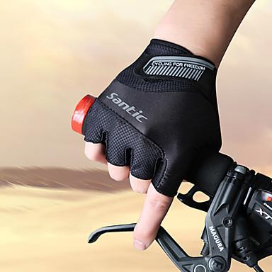 SANTIC Aktivnost / Sport Rukavice Biciklističke rukavice Prozračnost Otporno na nošenje Anti-traktorskih Protective Wicking Otpornost na