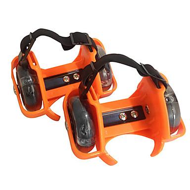 子供用 インラインスケート スケートサイクル ストリートローラー アンチスリップ クッション サイズが調整できます. 耐摩耗性 調整可能 フリーサイズ ブラック/オレンジ/ローズレッド/グリーン/ブルー