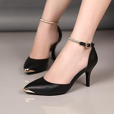 Cuir 05749140 Talon Aiguille Rouge Chaussures Talons à Rose Chaussures Eté Noir Confort Femme B5xnn