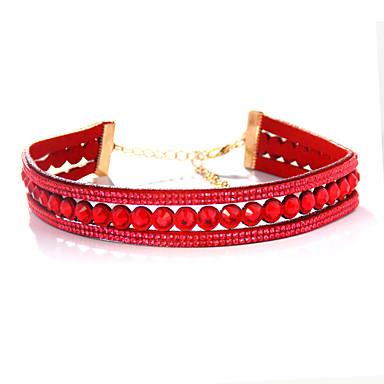 Dámské Obojkové náhrdelníky Šperky Šperky Štras Slitina Módní Euramerican Šperky Pro Párty Zvláštní příležitosti