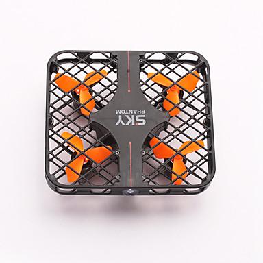 RC Drone 777-382 4CH 6 Eixos 2.4G Quadcópero com CR Luzes LED / Retorno Com 1 Botão / Seguro Contra Falhas Quadcóptero RC / Controle Remoto / Cabo USB / Modo Espelho Inteligente / Vôo Invertido 360°