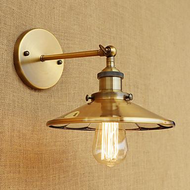 ريفي / بلدي / رجعي / زهري مصابيح الحائط معدن إضاءة الحائط 110-120V / 220-240V 40 W / E26 / E27
