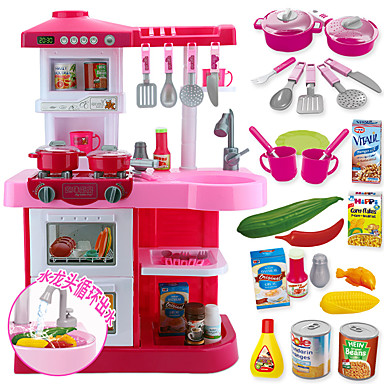 Toy Kitchen Set Toy Dishes Tea Sets Toy Food Play Food Large