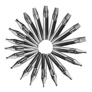 basekey 22 Stück pro 304 Edelstahl Premium-Tätowierung-Spitzen-Kit für Spannmaschinensatz