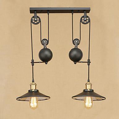 2-luz Luzes Pingente Luz Ambiente - Designers, 110-120V / 220-240V Lâmpada Incluída / 10-15㎡ / E26 / E27