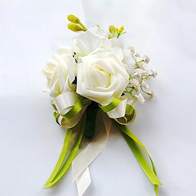 Bouquets de Noiva Buquês Alfinetes de Lapela Decoração de Casamento Original Outros Flor Artificial Casamento Ocasião Especial Festa /