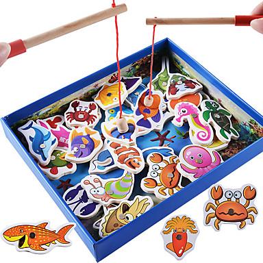 Blocs de Construction Jouets de pêche Jouet Educatif Poissons Magnétique Classique Garçon Fille Jouet Cadeau
