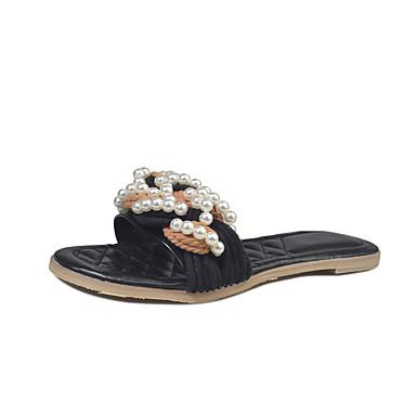 93f8ec4fc3 Γυναικεία Flat Sandal Heel PU Καλοκαίρι Ανατομικό   αδέξιος μπότες Σανδάλια    Παντόφλες   flip-