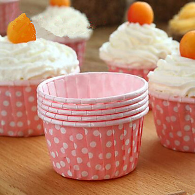 Ferramentas bakeware Papel Amiga-do-Ambiente / Faça Você Mesmo Cupcake Bicarbonato de Pratos e Pans