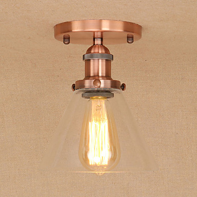 Luzes Pingente Luz Ambiente Galvanizar Metal Vidro Estilo Mini, Designers 110-120V / 220-240V Lâmpada Incluída / E26 / E27