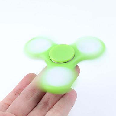 Spinners de mão / Mão Spinner Alta Velocidade / Por matar o tempo / O stress e ansiedade alívio LED Spinner Plástico Clássico Peças Para Meninas Crianças / Adulto Dom