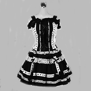 Gothic Lolita Lolita Dámské Jednodílné Šaty Cosplay Krátký rukáv