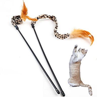 Cat Teasers Leopard Textile For Cat Kitten