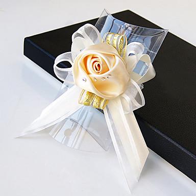 Bouquets de Noiva Buquês Buquê de Pulso Outros Flor Artificial Casamento Festa / Noite Material Renda Cetim 0-20cm