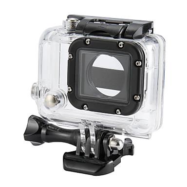 Schutzhülle Wasserfestes Gehäuse Hülle Wasserfest Zum Action Kamera Gopro 3 Kunststoff ABS