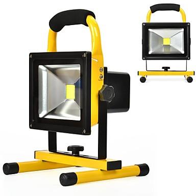 كاويل 20 واط الأضواء أضواء العمل للماء التخييم الأمن أضواء مدمج قابلة ليثيوم باتيريزدايليت الأبيض 6000 كيلو