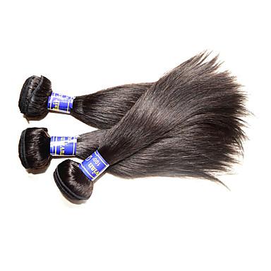 Peruánský Remy Hair Remy paruky z opravdových vlasů Proste Remy lidské vlasy Vazby