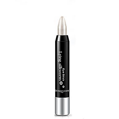 Sombra para Olhos Canetas & Lápis Maquiagem 1 pcs Olhos Clássico Diário Gloss Colorido Natural Cosmético Artigos para Banho & Tosa