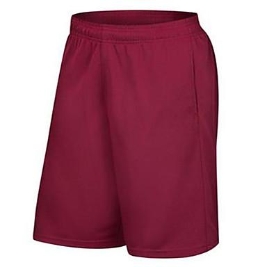 Homens Shorts de Corrida Exercício e Atividade Física Corrida Algodão Cinzento Vermelho Azul M L XL XXL XXXL