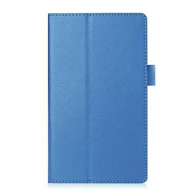 Capinha Para Lenovo Capa Proteção Completa / Tablet Cases Sólido Rígida PU Leather para