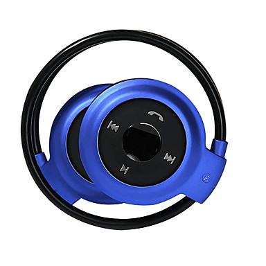 على الاذن لاسلكي Headphones بلاستيك الرياضة واللياقة البدنية سماعة مع التحكم في مستوى الصوت / مع ميكريفون سماعة