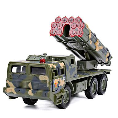 Caminhão de mísseis Caminhões & Veículos de Construção Civil Carros de Brinquedo Carrinhos de Fricção 1: 100 Plástico Unisexo Crianças
