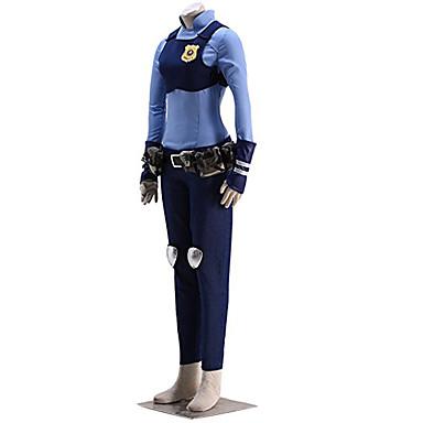 Inspirirana Cosplay Džudi Anime Cosplay nošnje Cosplay Suits Print Shirt Hlače Rukavice Pojas Torba Kneepad Grudni oklop Za Muškarci Žene