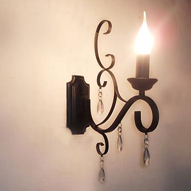 Moderno/Contemporâneo Tradicional/Clássico Luminárias de parede Para Metal Luz de parede 110-120V 220-240V 45W
